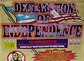 DECLARATION OF INDEPENDENCE (A 500 gram load) Image