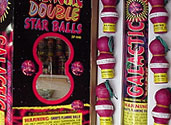 GALACTIC DOUBLE STAR BALLS Image
