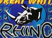 GREAT WHITE RHINO, BLUE EDITION Image