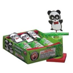 LARGE HAPPINESS FOUNTAIN, FROG, CLIMBING PANDA, CHAMPAGNE POPPER Image