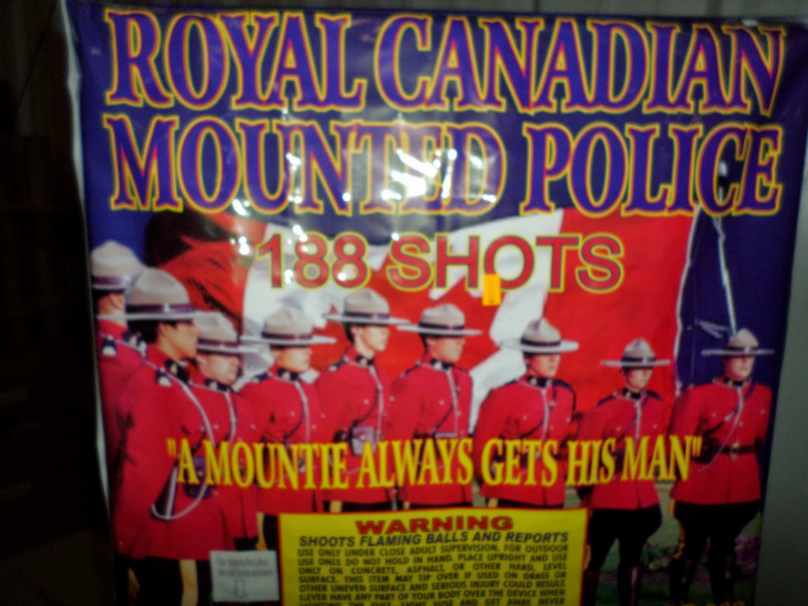 ROYAL CANADIAN MOUNTED POLICE (500 gram, grand finale) Image