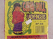CHINA DOLL LADY CRACKERS Image