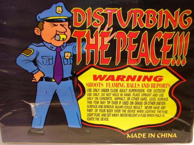 MAD HORNETS DISTURBING THE PEACE (500 Gram Load) Image
