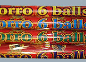 EL TORRO 6-BALL CANDLE Image
