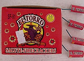 EL TORRO M-95 SINGLE FIRECRACKERS Image