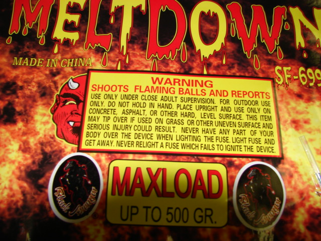MELTDOWN (500 GRAM LOADS) Image