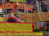 MOBSTER WHISTLERS WITH A BANG Image