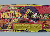WHISTLING MOON FLYER WITH COLOR AND BANG Image